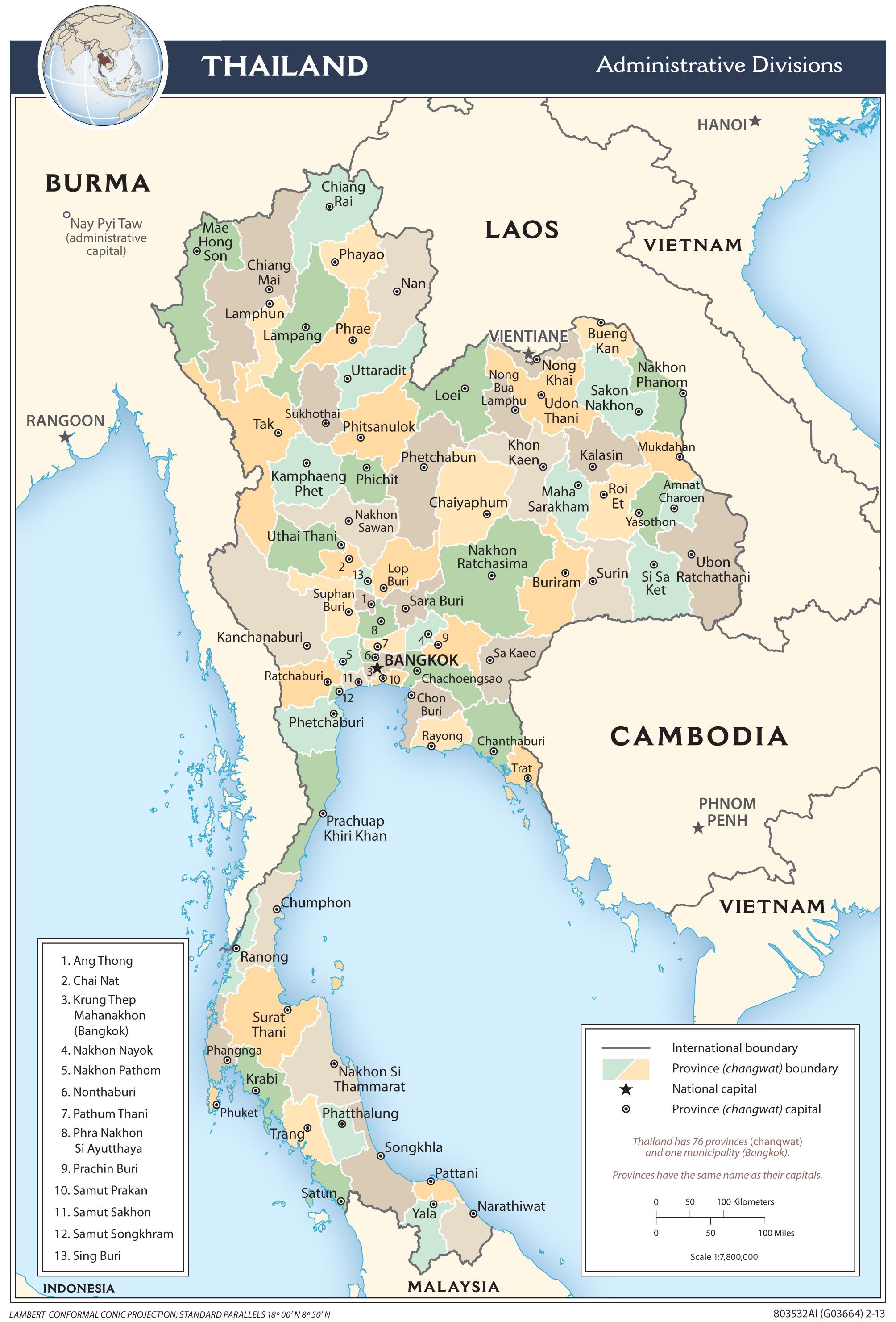 Thai Dk Din Debat Side Debatforum Thailands 77 Provinser Changwat